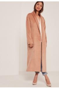 femme-manteaux-longs-missguided-manteau-long-nude-texture-a-revers